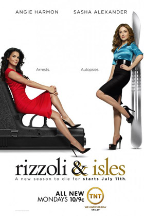 Rizzoli & Isles season 2 DVD poster