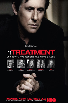 In Treatment DVD-poster
