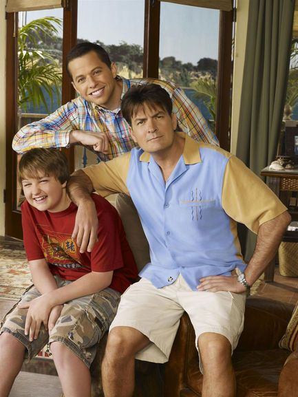 two and a half men seasons 1-6 dvd