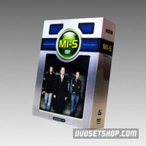 MI5(Spooks) Seasons 1-4 DVD Boxset