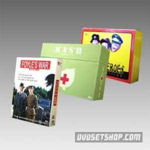 Christmas Sale - Mash&Hogan's Heroes&Foyle's War Series DVD Boxset