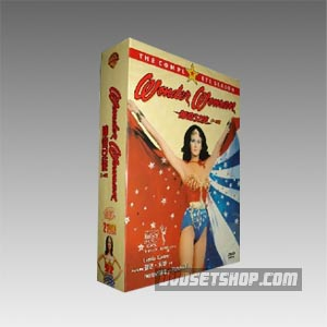 Wonder Woman Complete Seasons 1-3 DVD Boxset