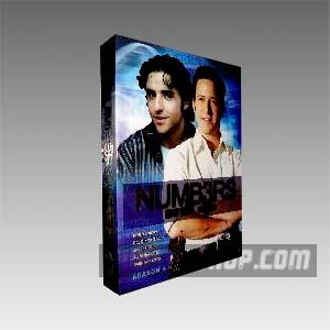 Numb3rs Season 4 DVD Boxset