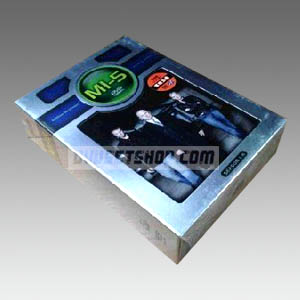 MI5(Spooks) Seasons 1-5 DVD Boxset