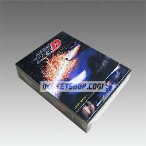 Initial D Seasons 1-5 DVD Boxset