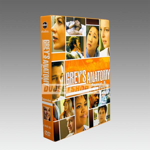 Grey's Anatomy Season 5 DVD Boxset