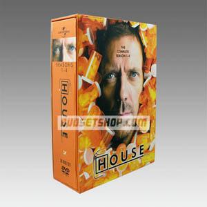 House M.D Seasons 1-5 DVD Boxset