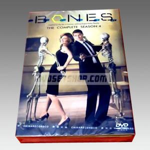 Bones Season 4 DVD Boxset