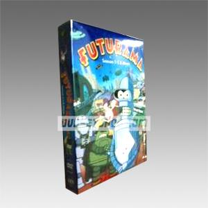 Futurama Seasons 1-5 & Movie DVD Boxset
