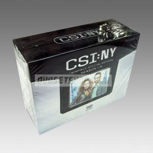 CSI: NY Seasons 1-5 DVD Boxset