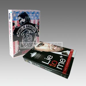 Sons of Anarchy + Lie to Me Seasons 1 DVD Collection