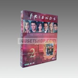 Friends Season 2 DVD Boxset
