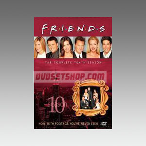 Friends Season 10 DVD Boxset