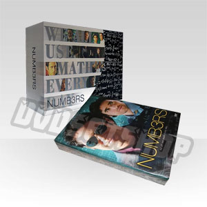Numb3rs Seasons 1-6 DVD Box Set