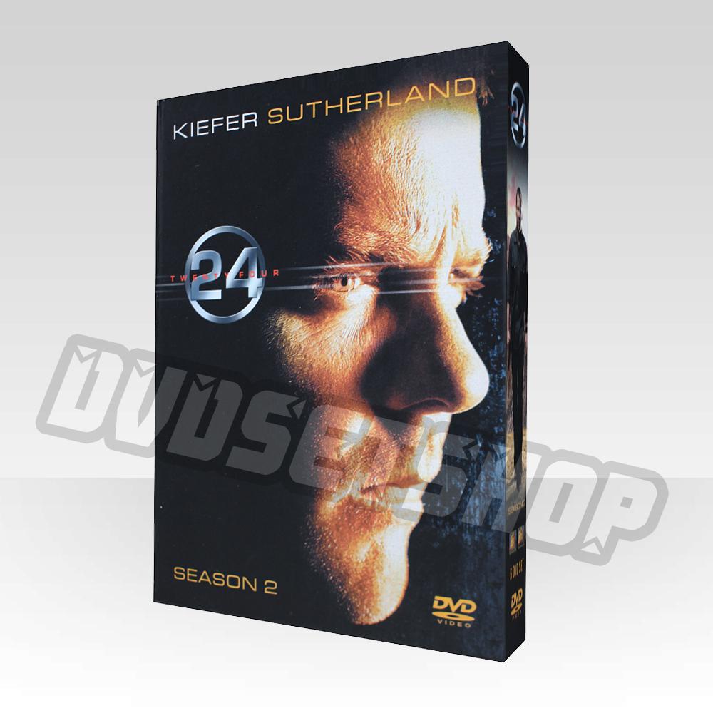 24 Hours Season 2 DVD Boxset