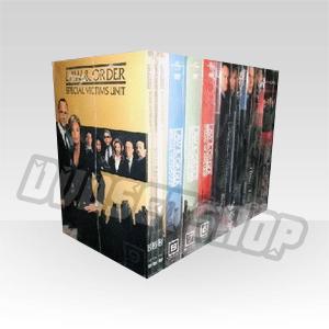 Law & Order Special Victims Unit Seasons 1-10 DVD Boxset