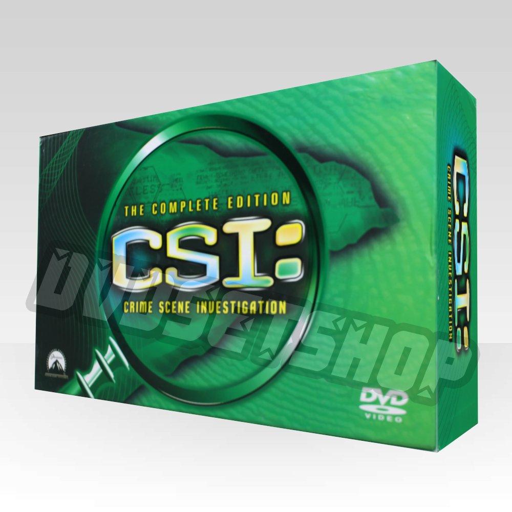 CSI Lasvegas Seasons 1-10 DVD Boxset