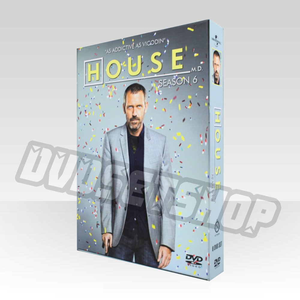 House MD Season 6 DVD Boxset