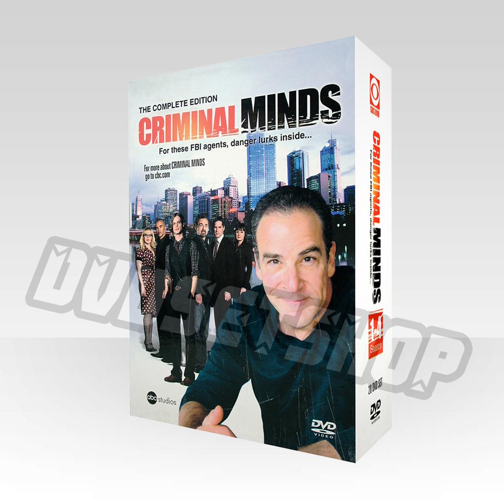 Criminal Minds Seasons 1 4 Dvd Boxset