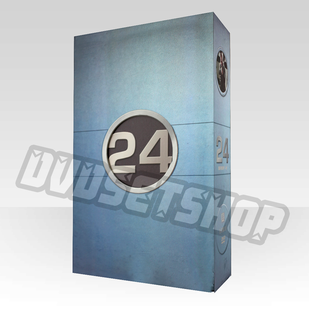 24 Seasons 1-8 DVD Boxset
