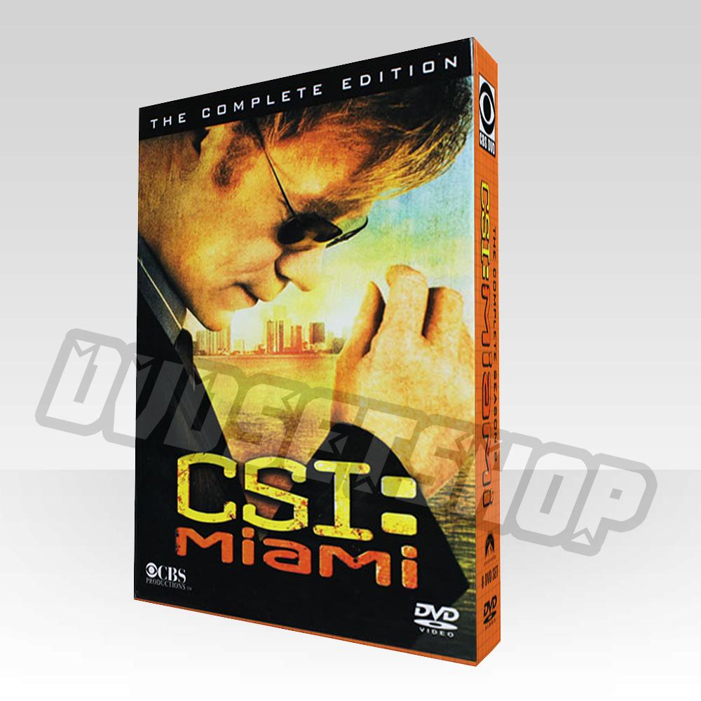 CSI Miami Season 8 DVD Boxset