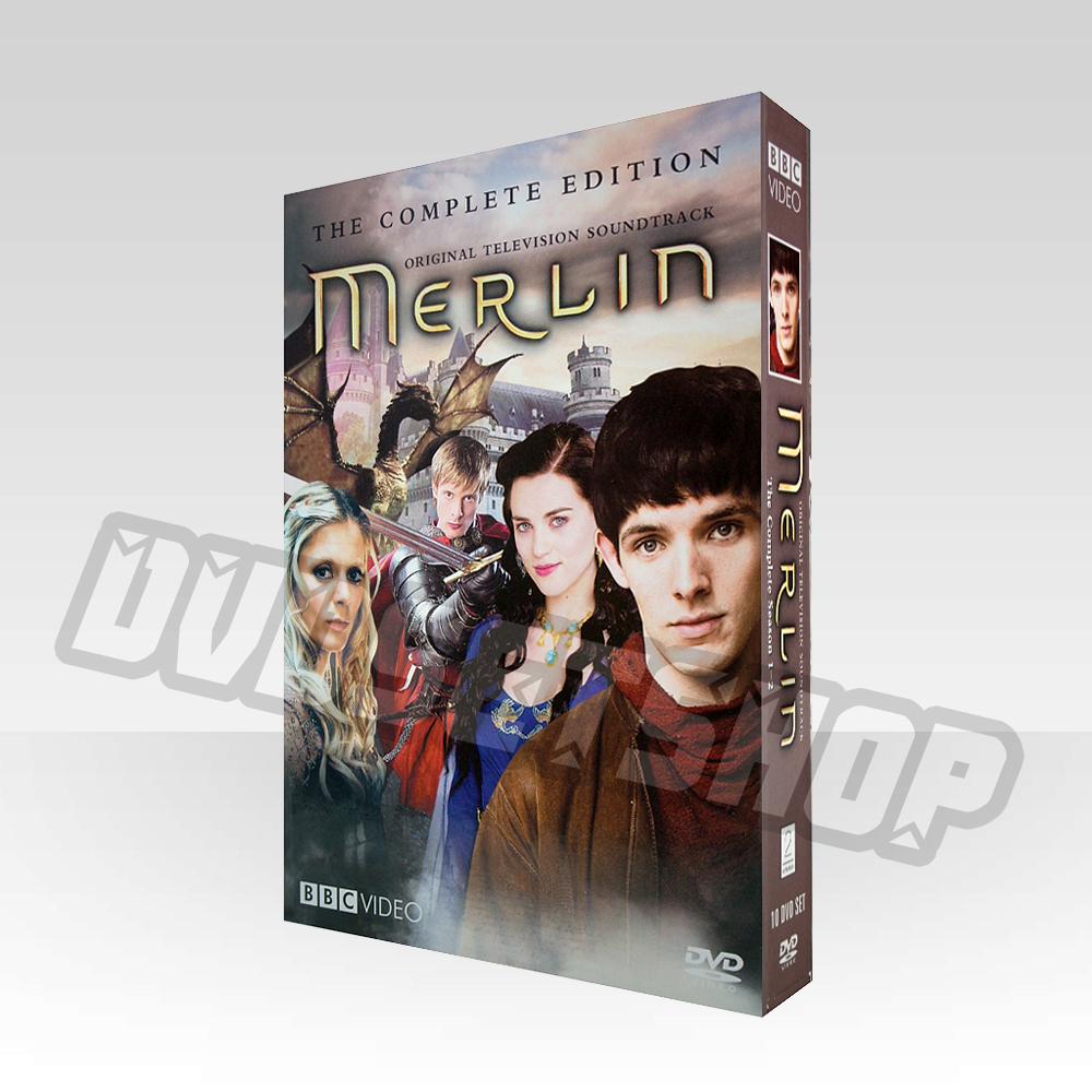 Merlin Seasons 1-2 DVD Box Set