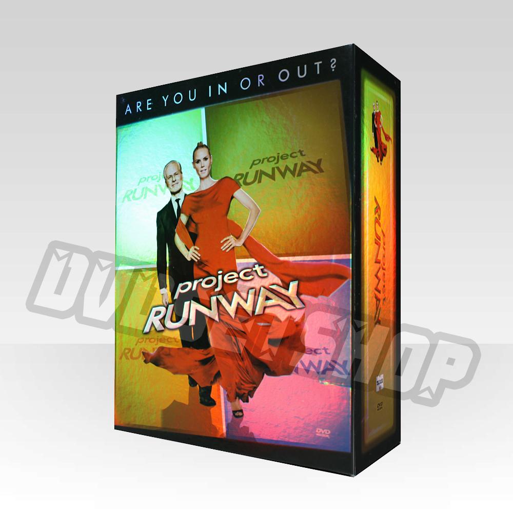 Project Runway Seasons 1-6 DVD Boxset