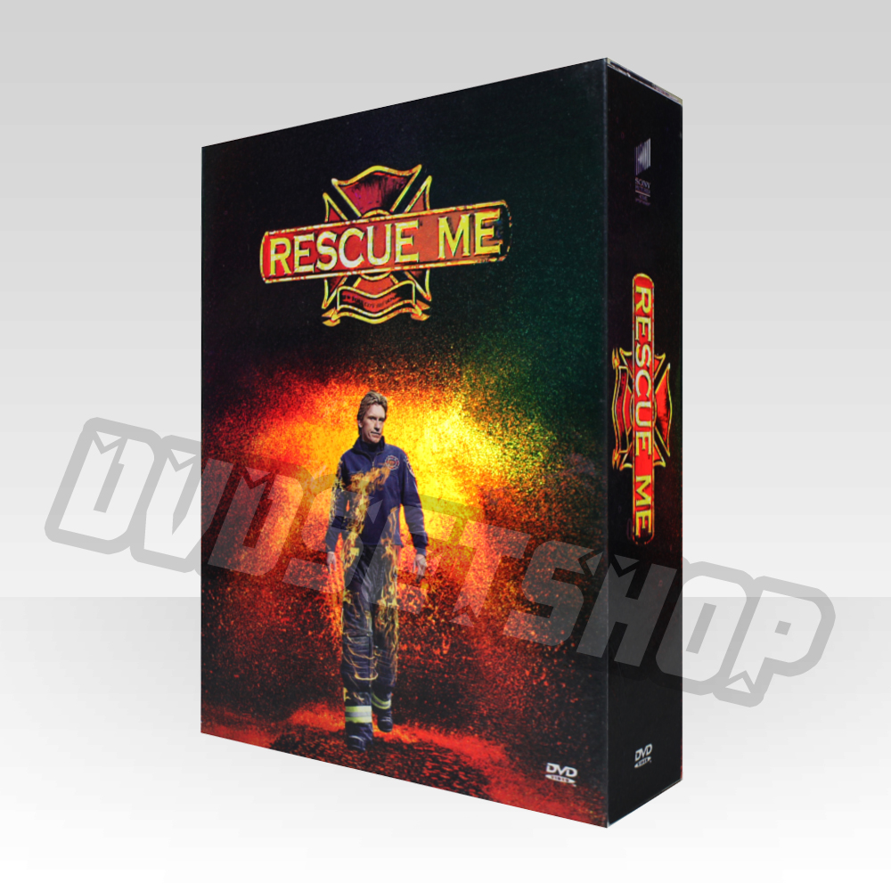 Rescue Me Seasons 1-4 DVD Boxset