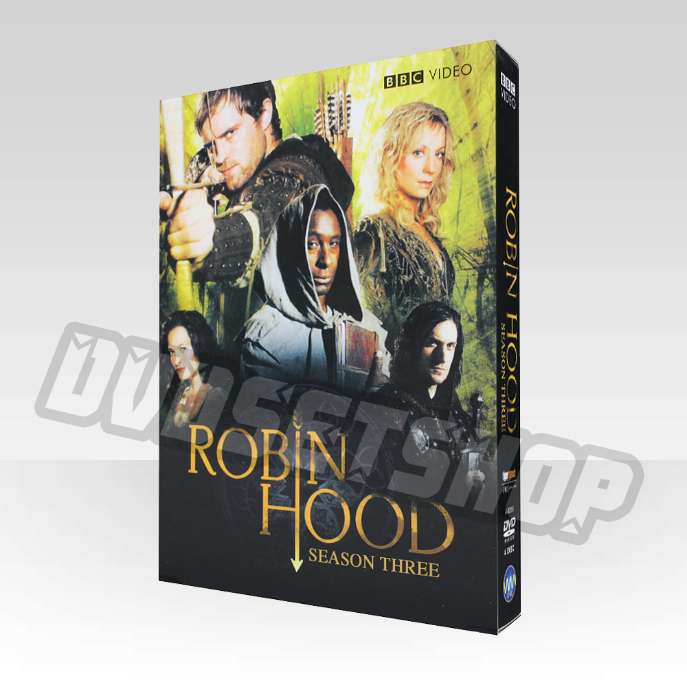 Robin Hood Season 3 DVD Boxset