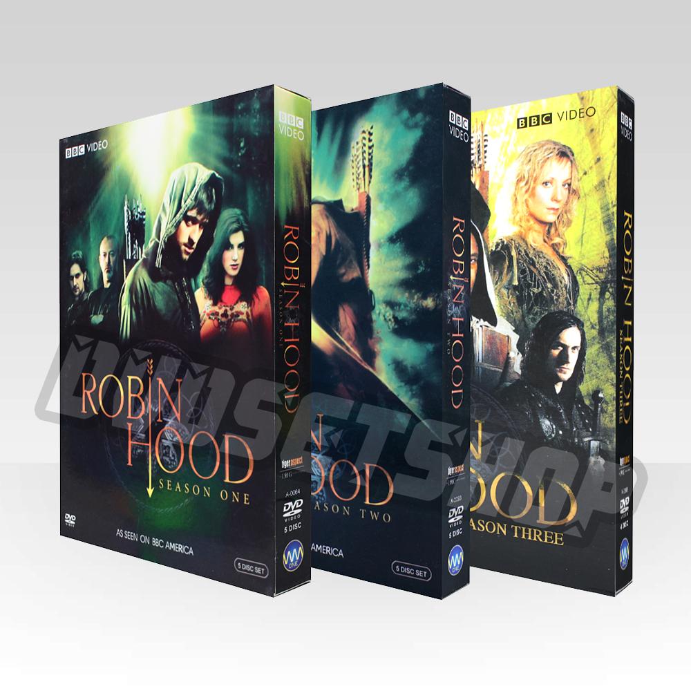 Robin Hood Seasons 1-3 DVD Boxset