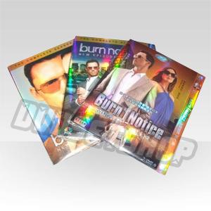 Burn Notice Seasons 1-3 DVD Boxset-D9