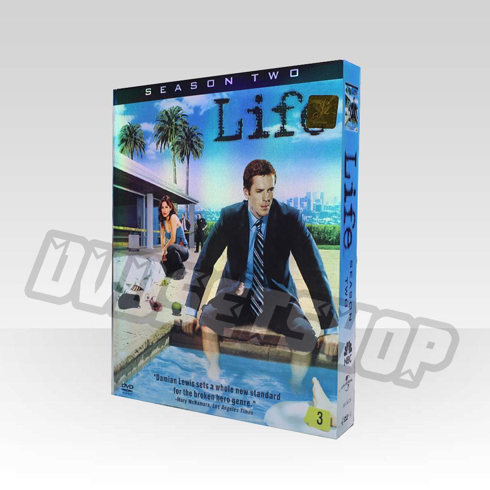 Life Season 2 DVD Boxset-D9