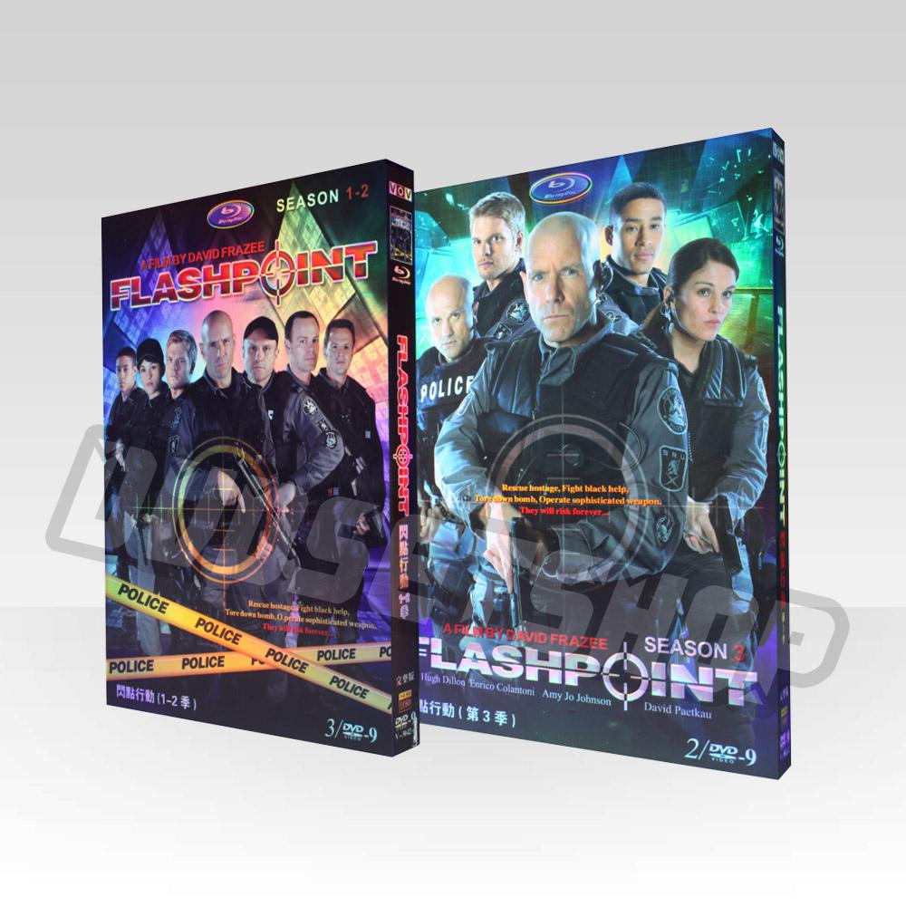 Flashpoint Seasons 1-3 DVD Boxset-D9