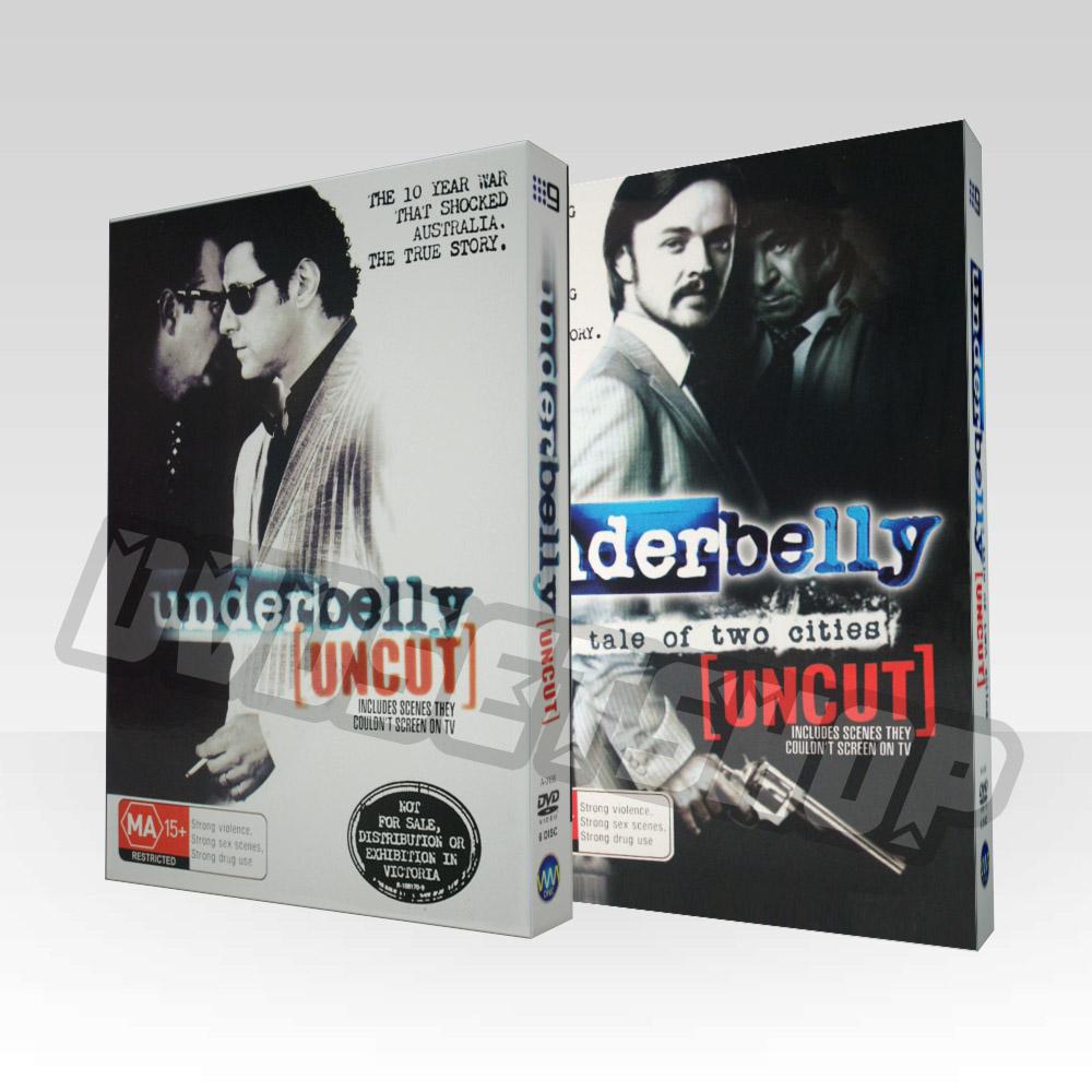 Underbelly Seasons 1-2 DVD Boxset