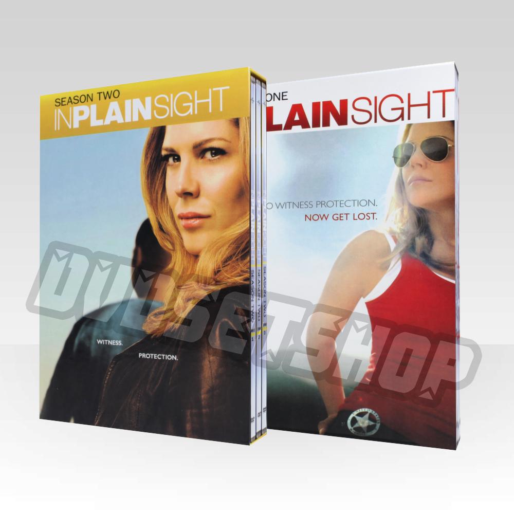 In Plain Sight Seasons 1-2 DVD Boxset