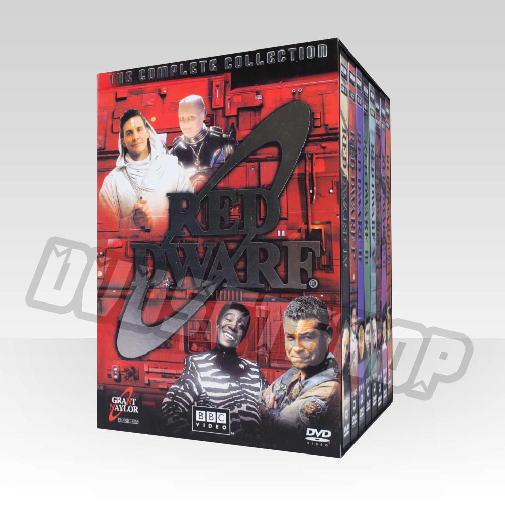 Red Dwarf Seasons 1-8 DVD Boxset