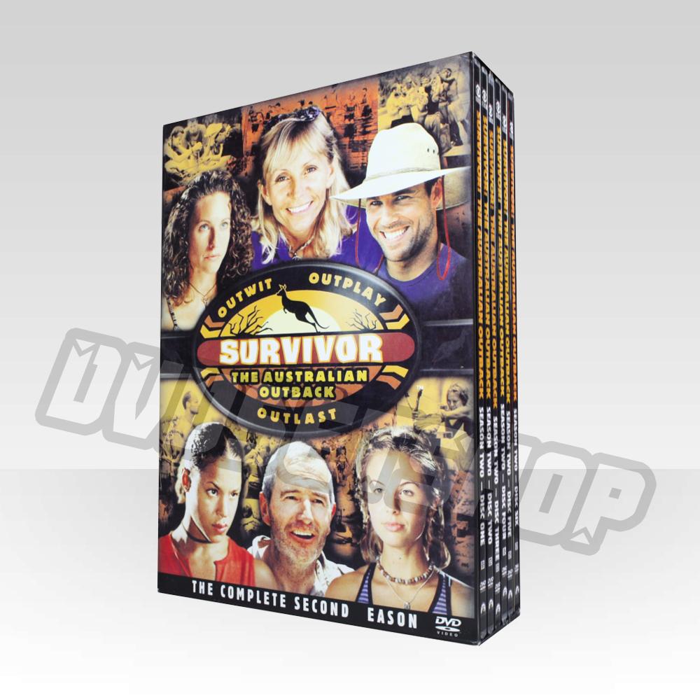 Survivor Season 2 DVD Boxset