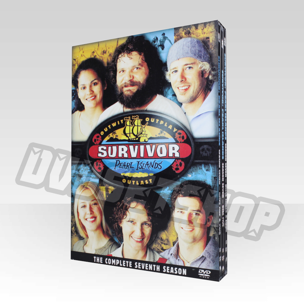 Survivor Season 7 DVD Boxset