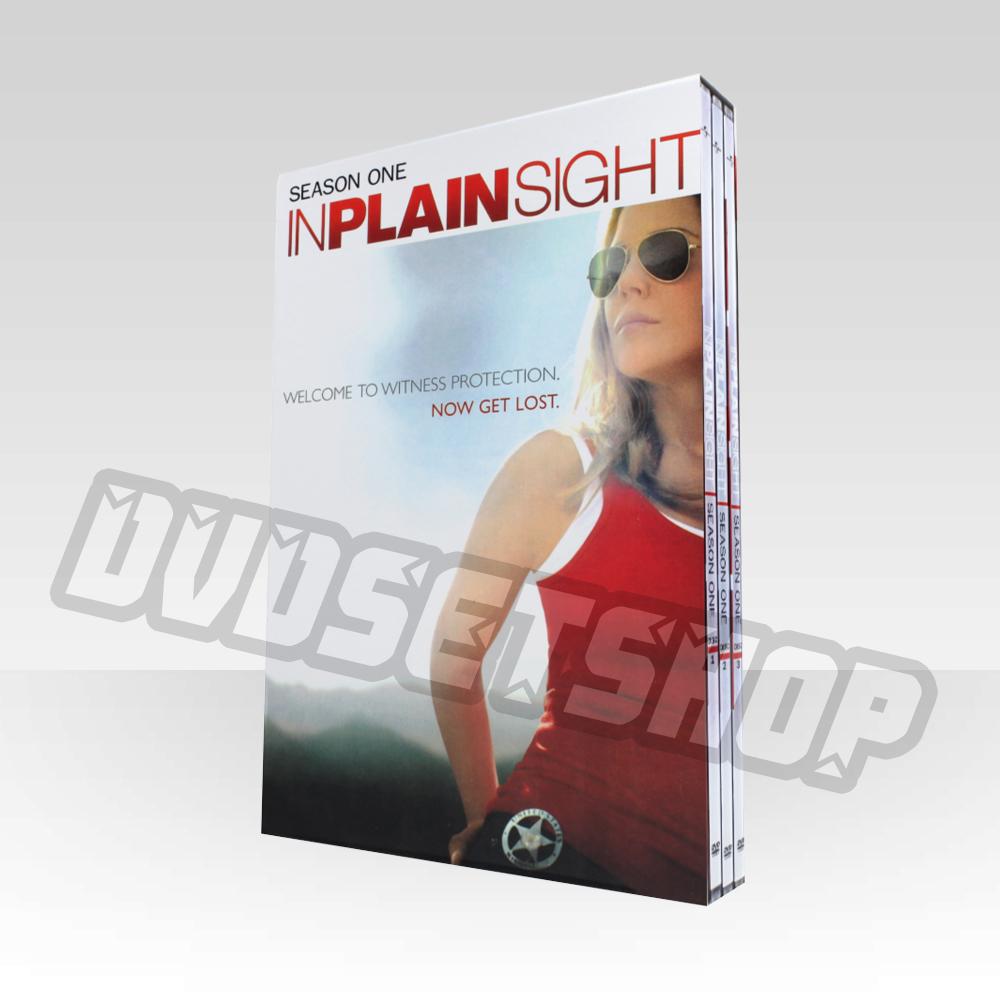 In Plain Sight Season 1 DVD Boxset
