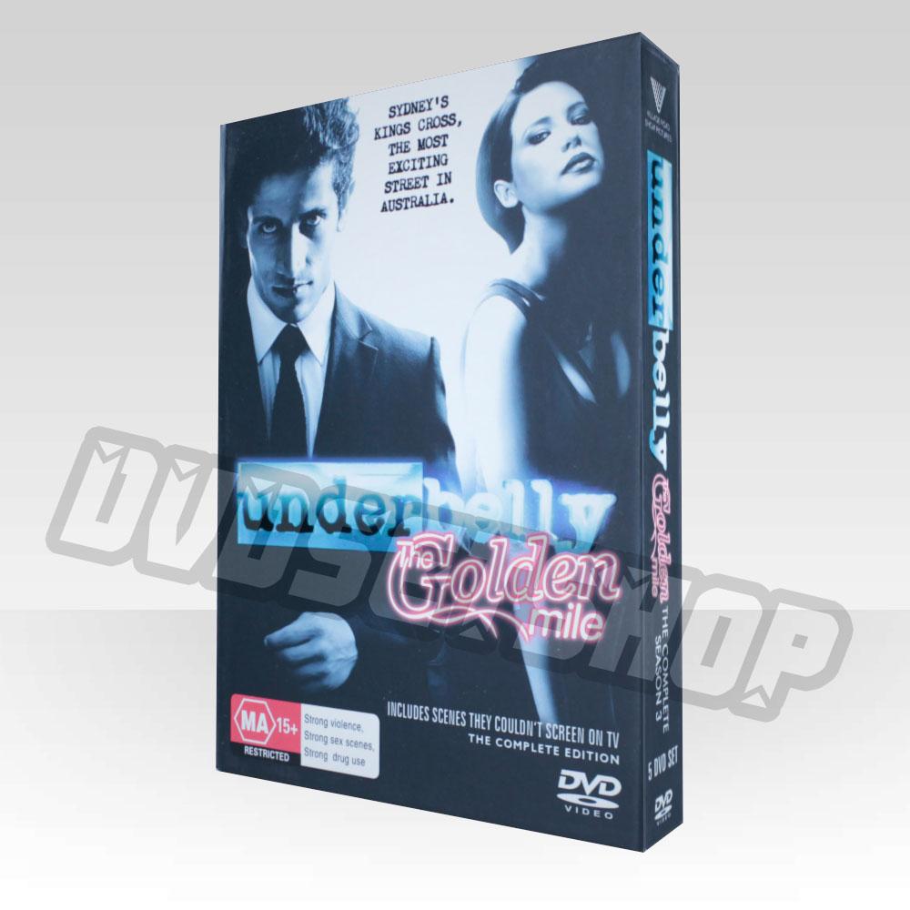 Underbelly Season 3 DVD Boxset