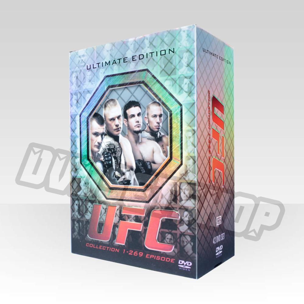 269: UFC(episode 1-269) DVD Boxset