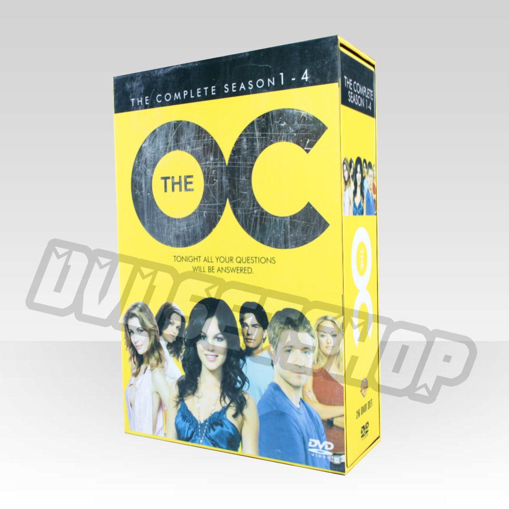 The OC Seasons 1-4 DVD Boxset