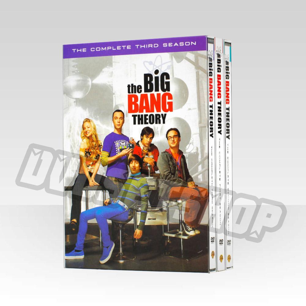 Big Bang Theory Seasons 1-3 DVD Boxset