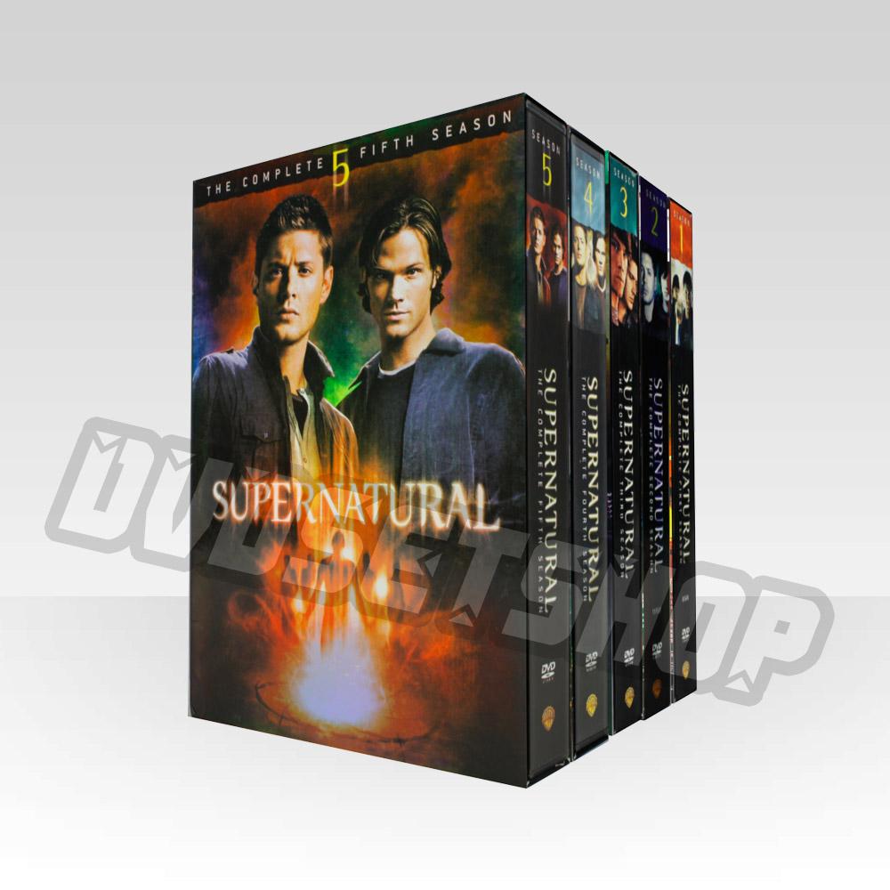 Supernatural Seasons 1-5 DVD Boxset