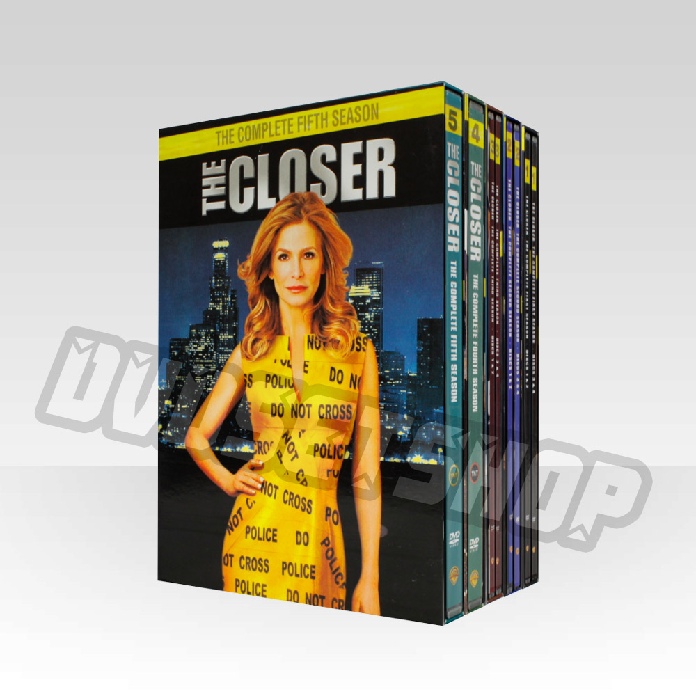 The Closer Seasons 1-5 DVD Boxset
