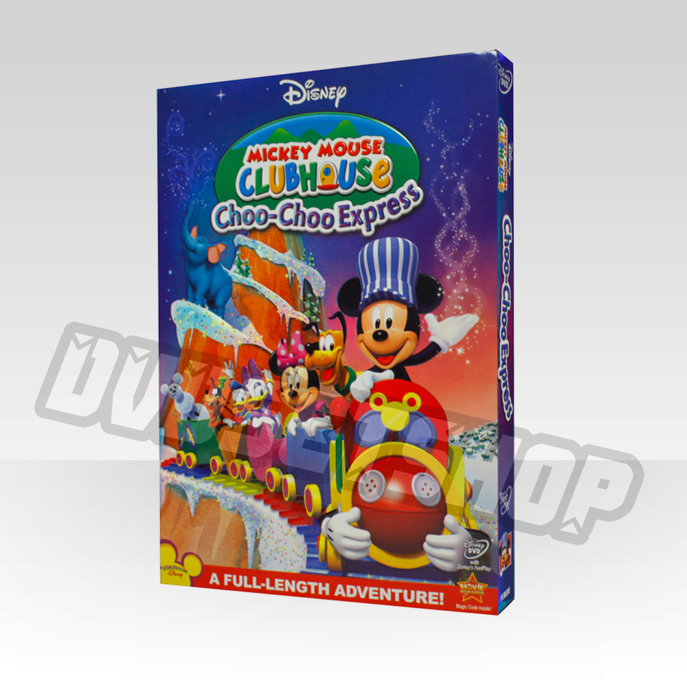 Mickey Mouse Clubhouse-choo-choo-express DVD Boxset