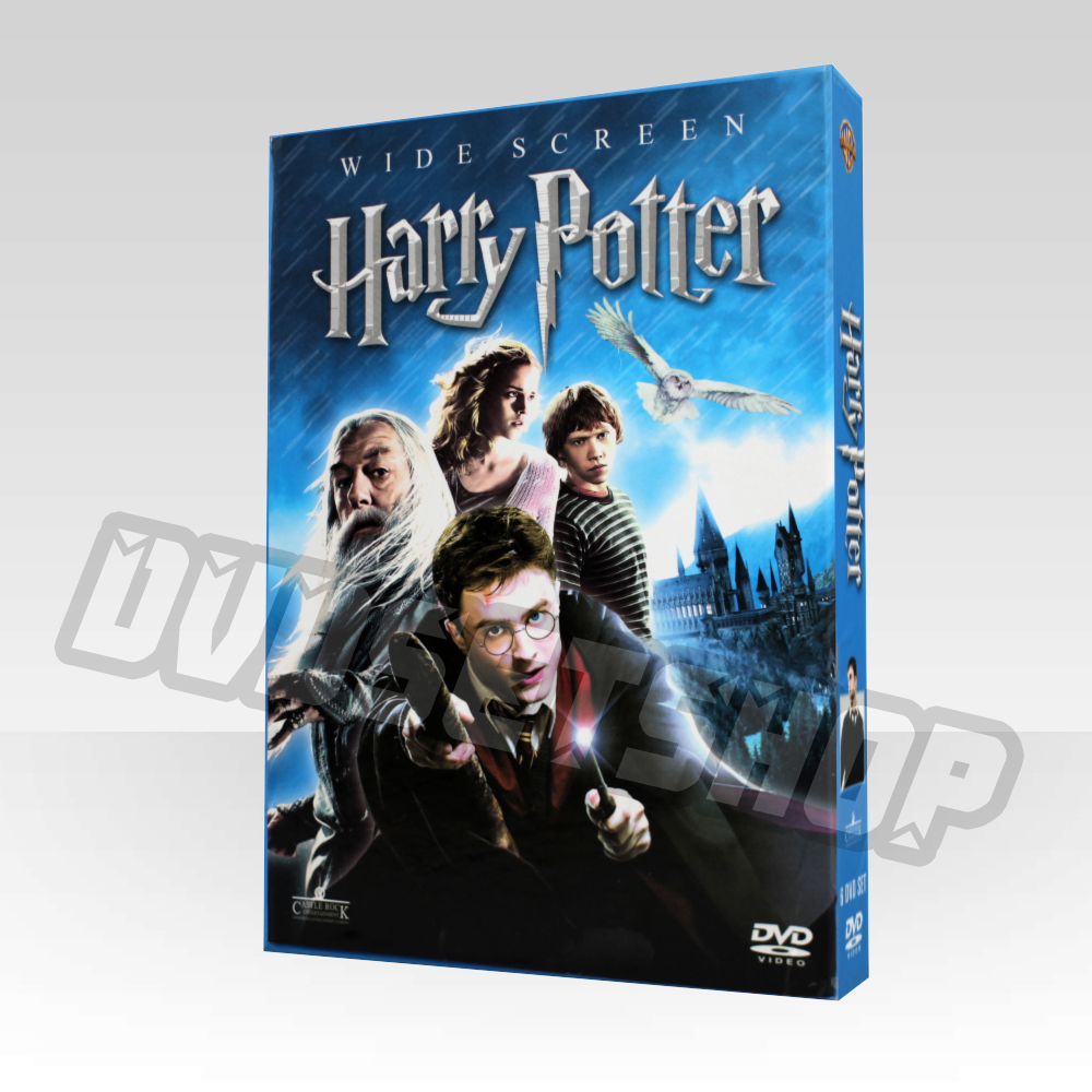 harry potter complete series dvd boxset. Black Bedroom Furniture Sets. Home Design Ideas