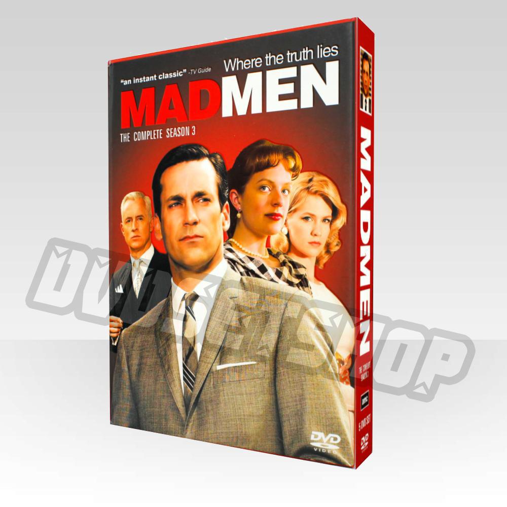 Mad Men Season 3 DVD Box Set