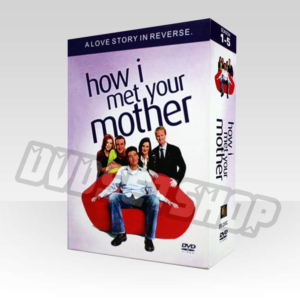 How I Met Your Mother Seasons 1-5 DVD Boxset