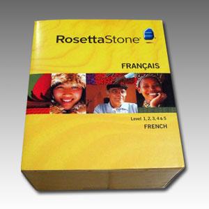 Rosetta Stone (French Language) DVD Box Set